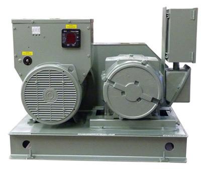 Belt Driven Motor Generators - 500 kVA Frequency Converter