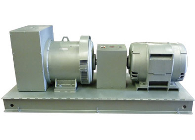 direct coupled motor generator set